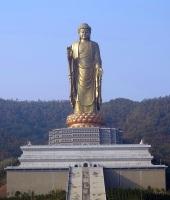 Lushan Buddha in China